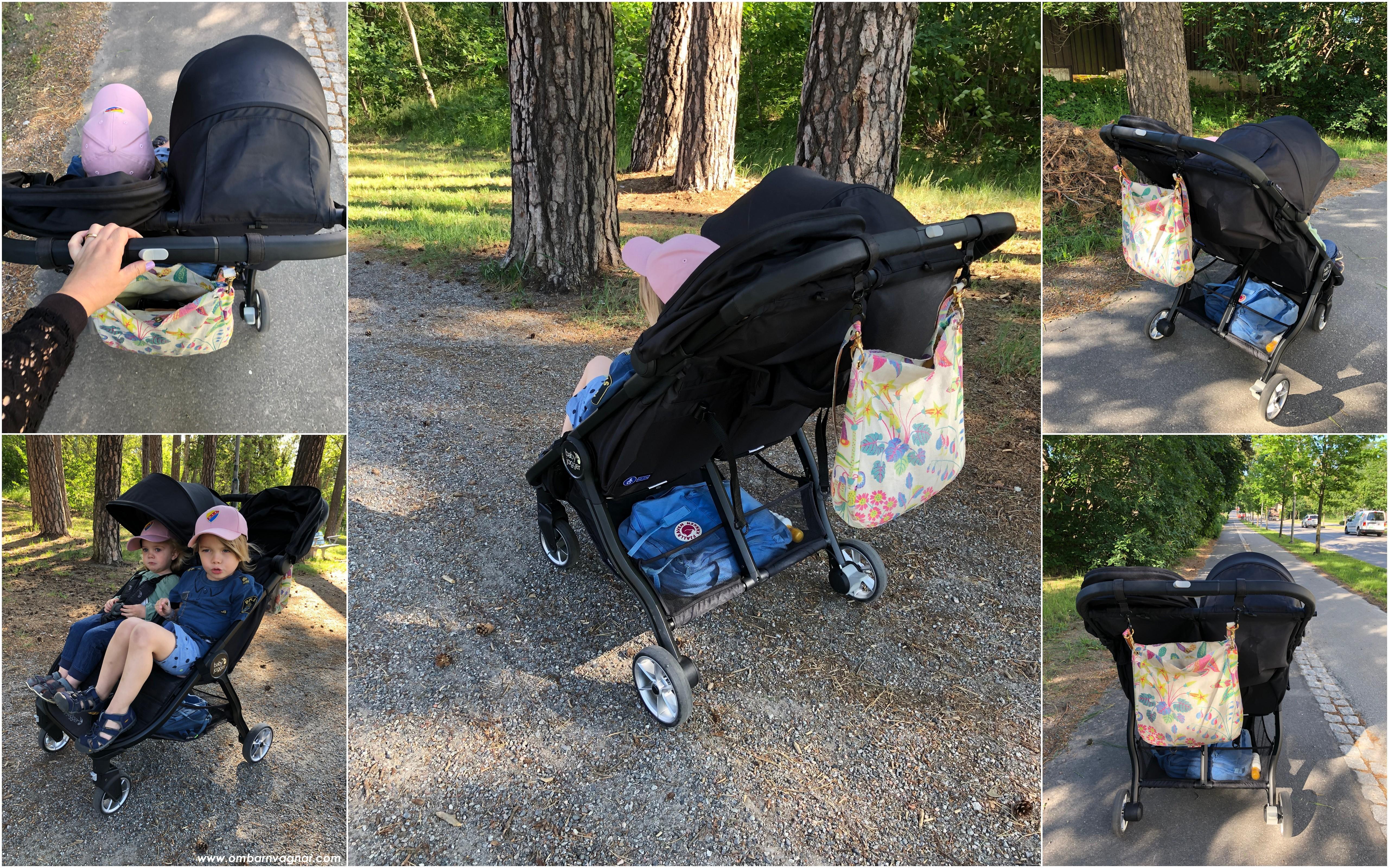 Baby Jogger City Tour 2 Double användning och rull