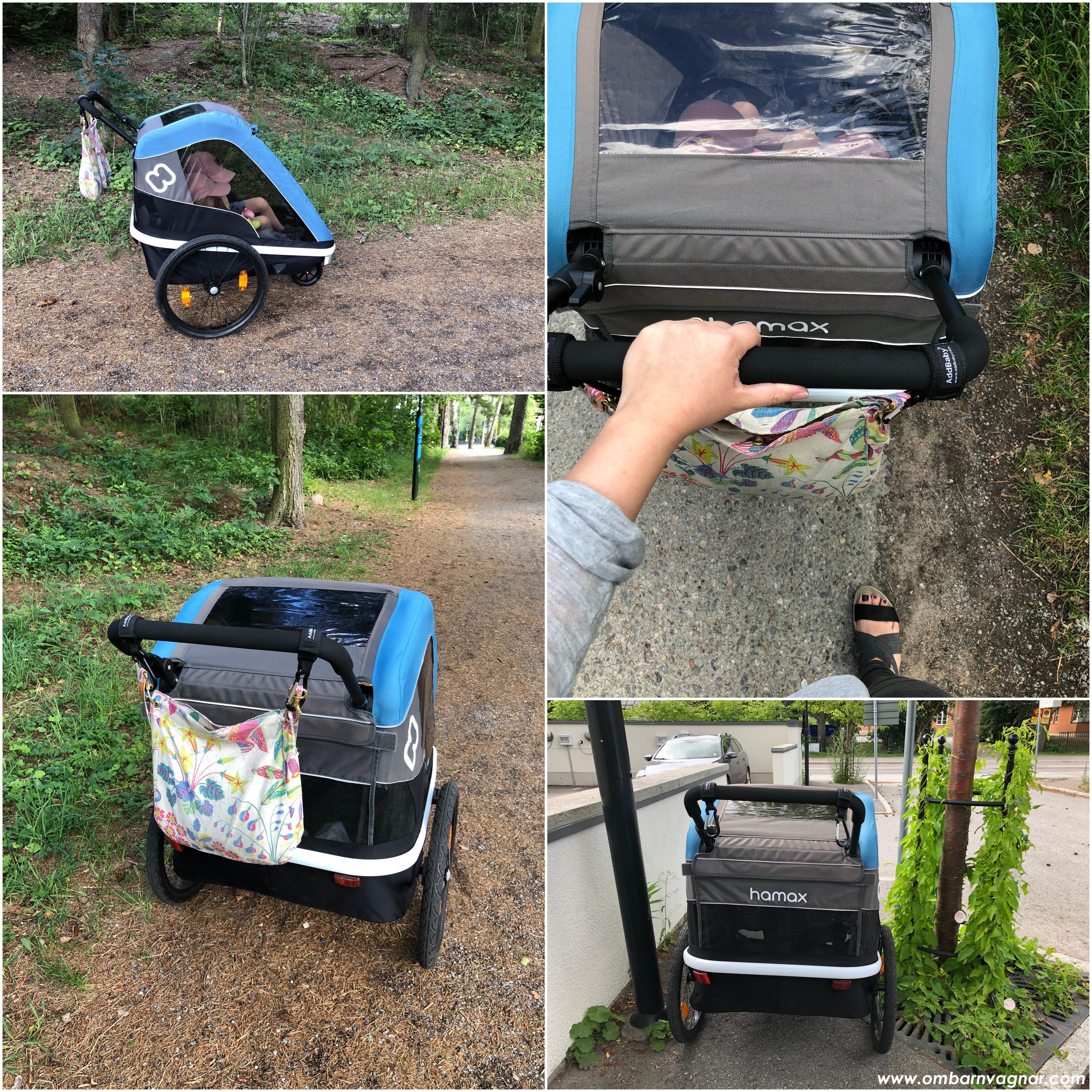 Använda Hamax Avenida som barnvagn för promenader