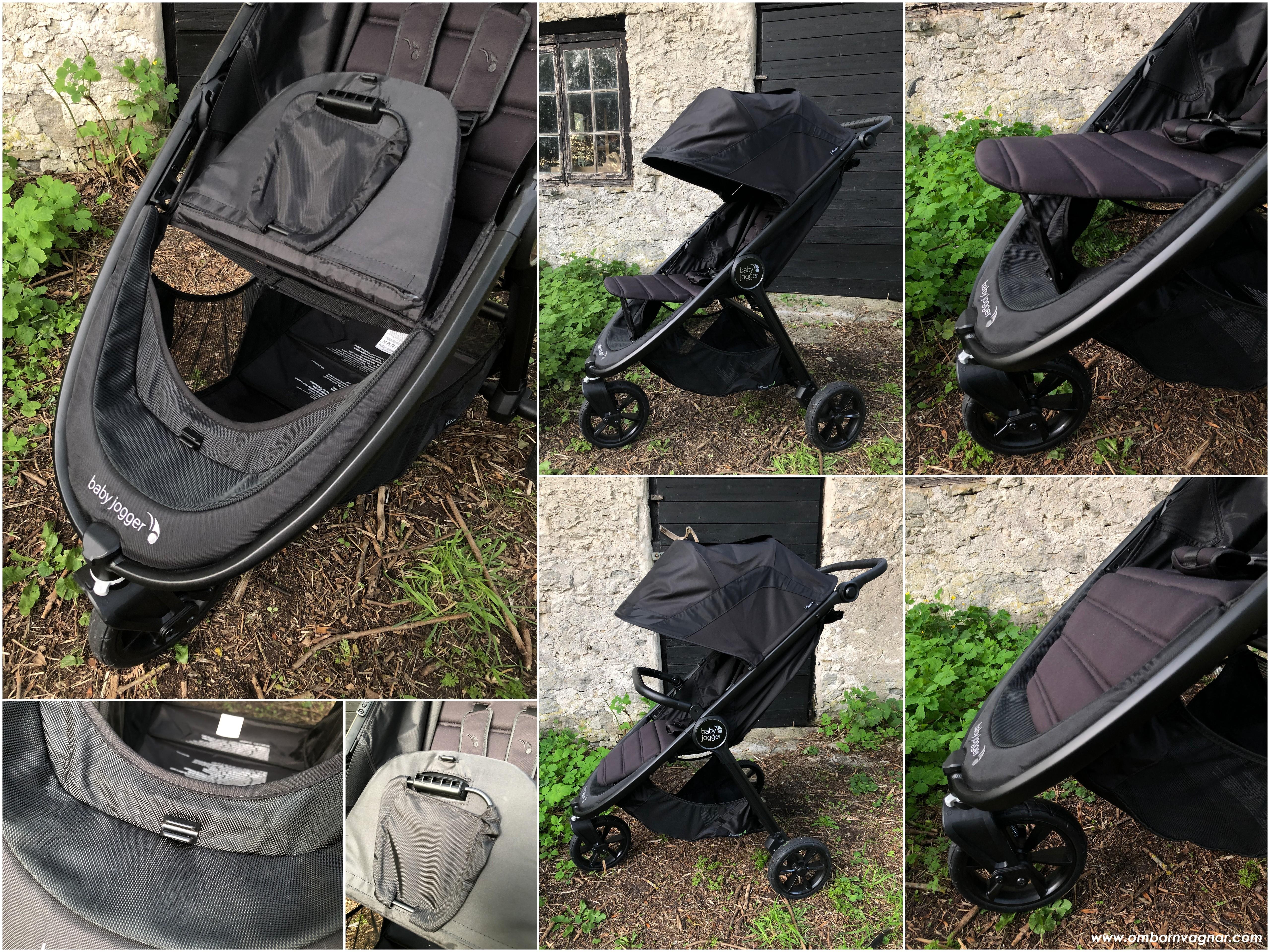 Ställbart fotstöd på Baby Jogger City Mini GT 2