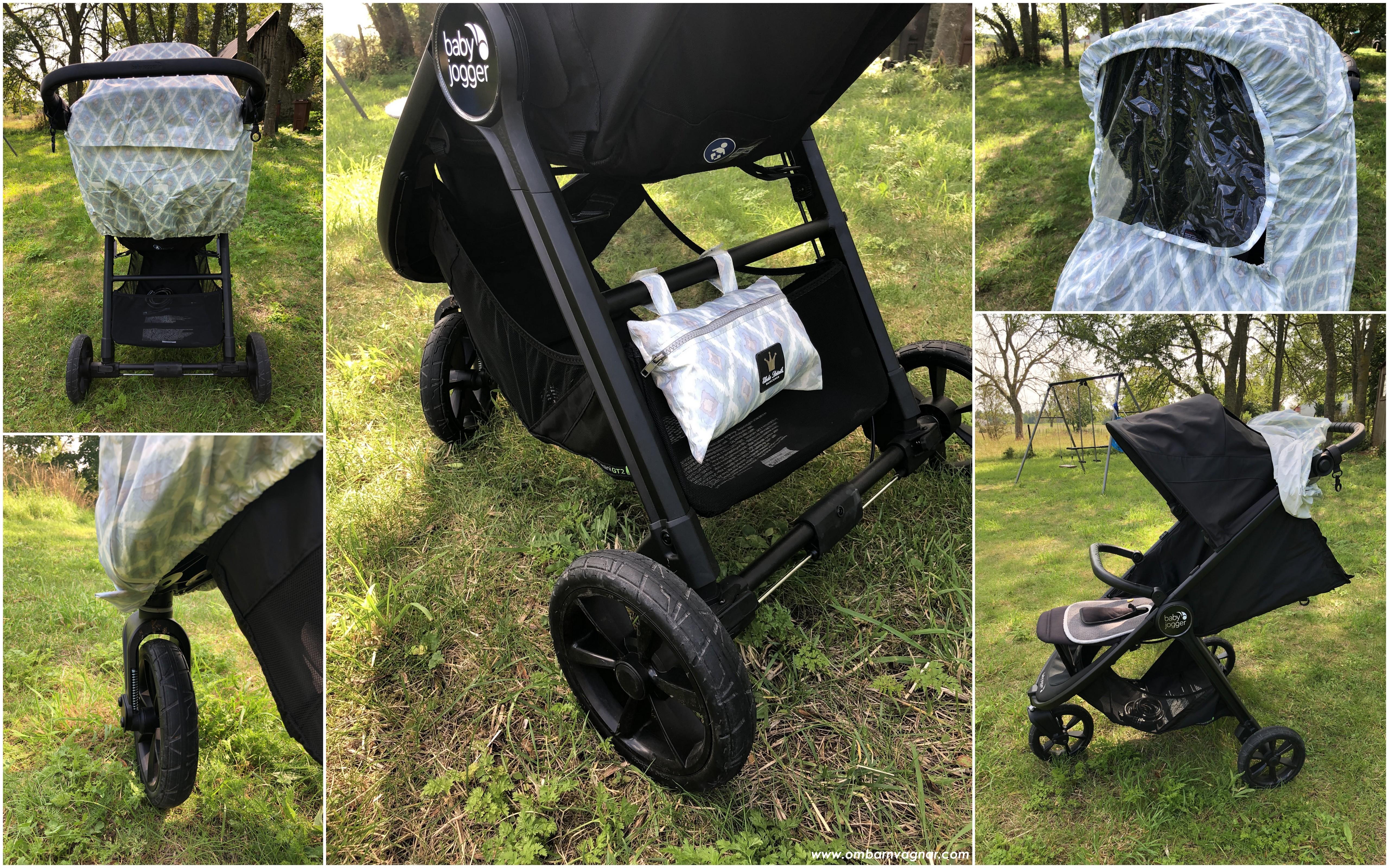 Elodie Details regnskydd på Baby Jogger sittvagn