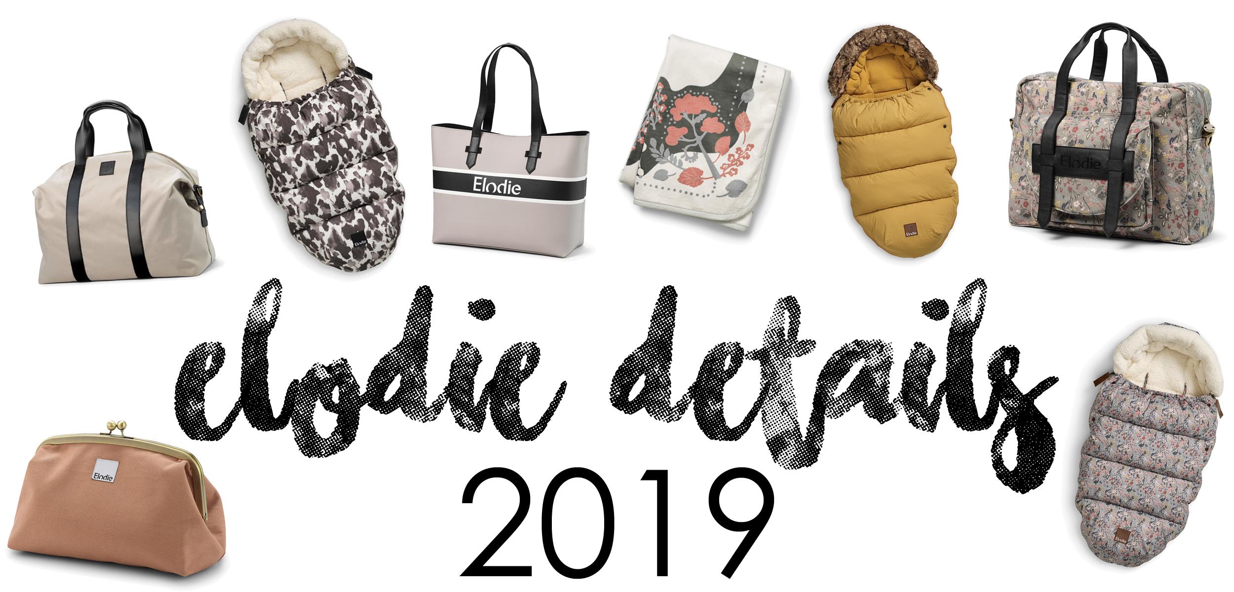 Elodie Details 2019 - åkpåsar och skötväskor