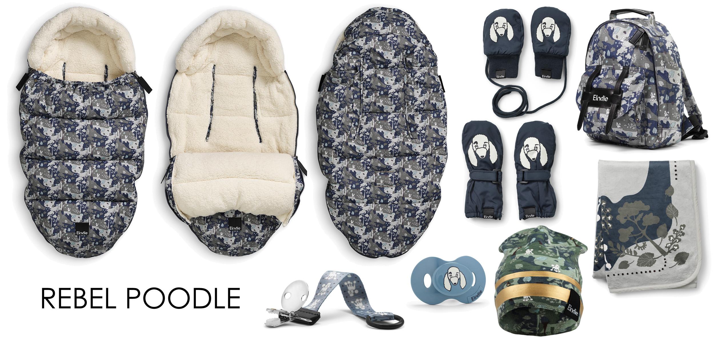 Elodie Details Rebel Poodle Åkpåse