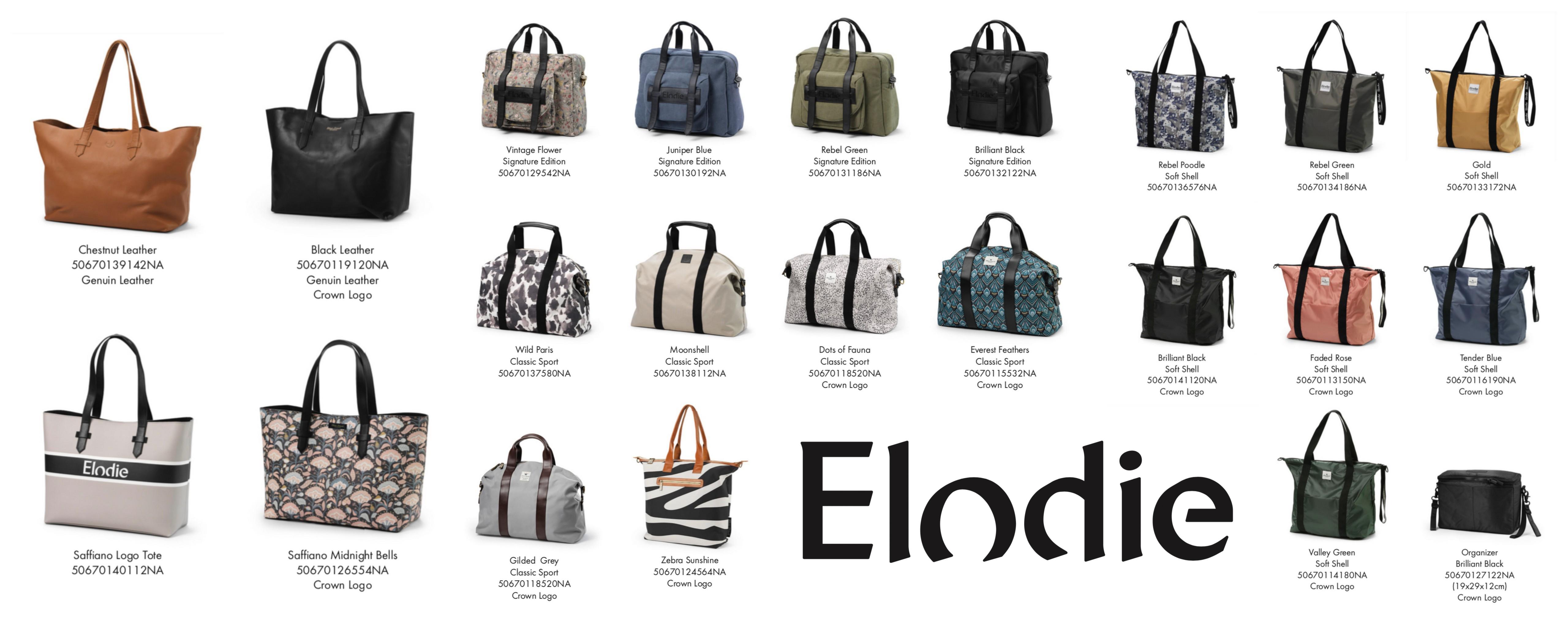 Elodie Details skötväskor 2019