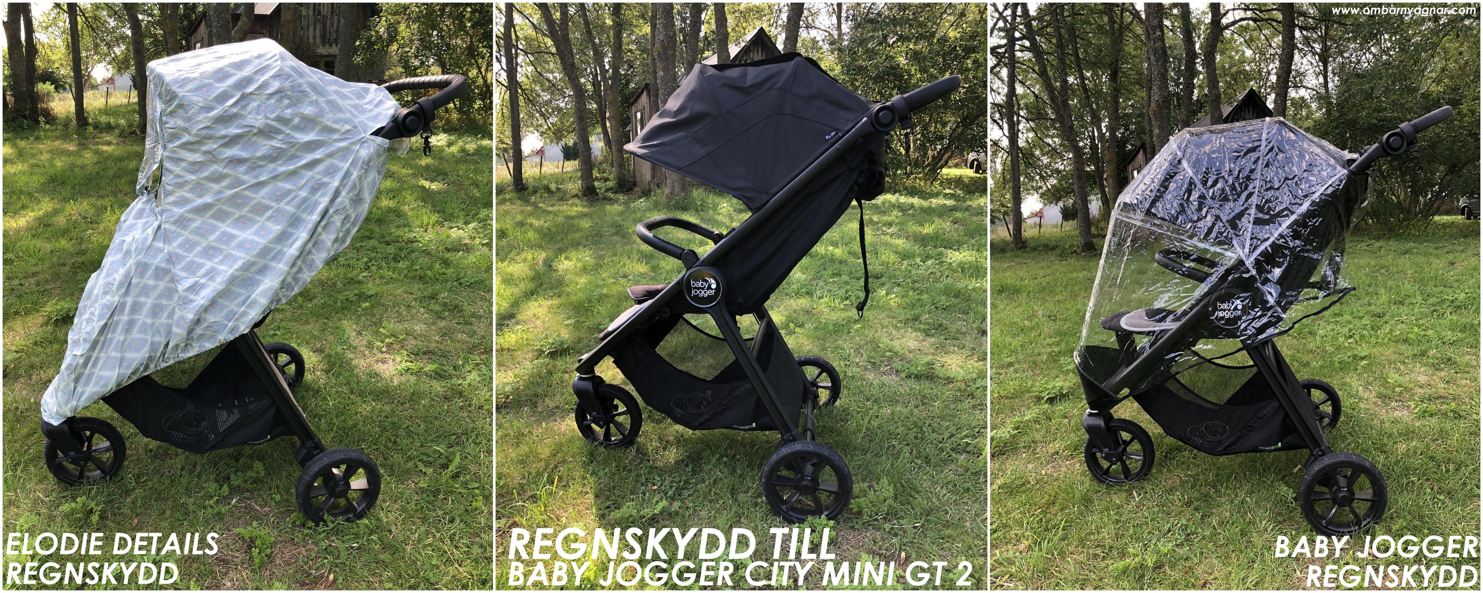 Regnskydd till Baby Jogger City Mini GT