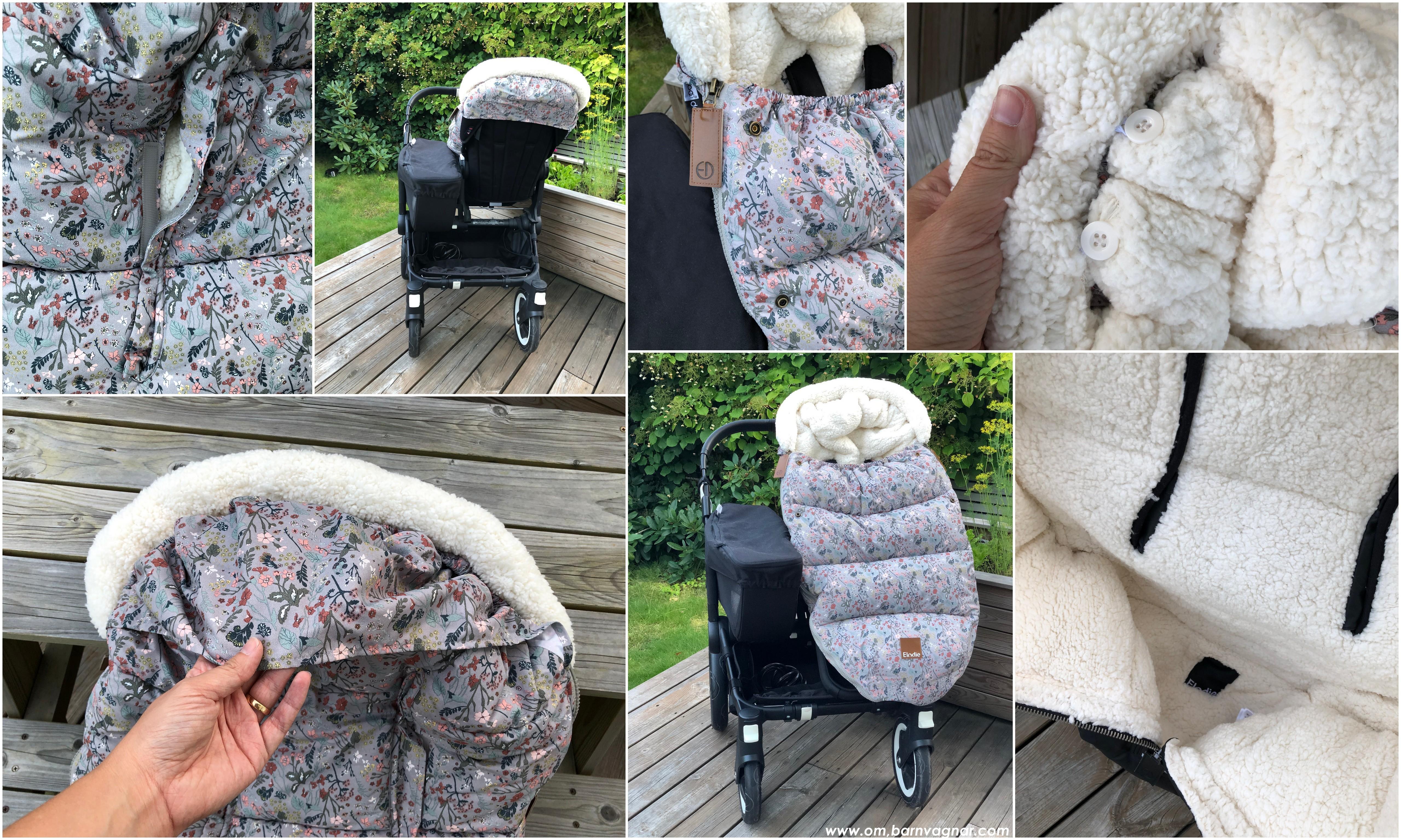 Elodie Details Vintage Flower åkpåse i barnvagnen recension 2019