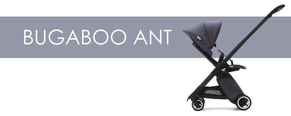 Bugaboo Ant är en liten barnvagn med bakåtvänd sittdel