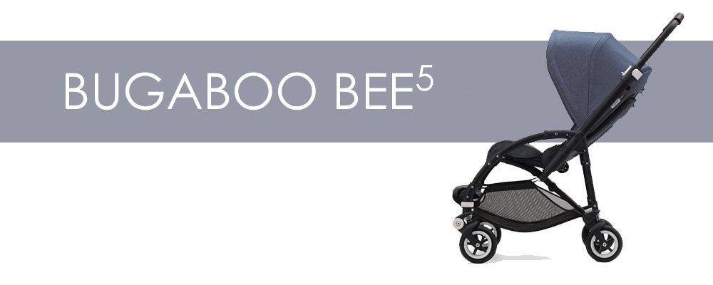 Bugaboo Bee5 är en liten barnvagn med bakåtvänd sittdel