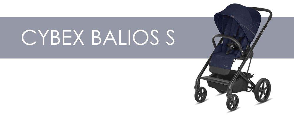 Cybex Balios S är en liten barnvagn med bakåtvänd sittdel