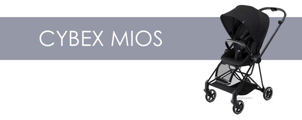 Cybex Mios är en liten barnvagn med bakåtvänd sittdel