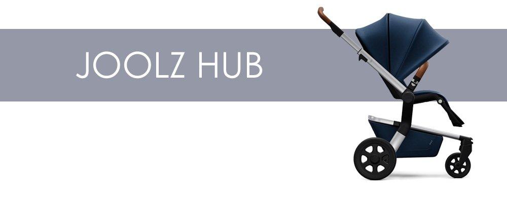 Joolz Hub är en liten barnvagn med bakåtvänd sittdel