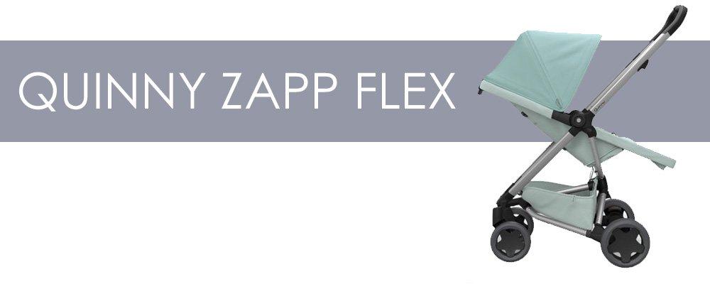 Quinny Zapp Flex är en liten barnvagn med bakåtvänd sittdel