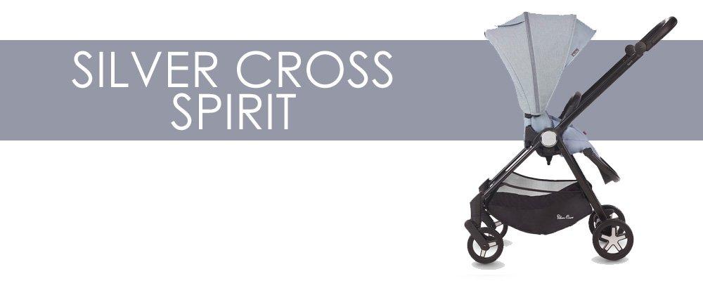 Silver Cross Spirit är en liten barnvagn med bakåtvänd sittdel