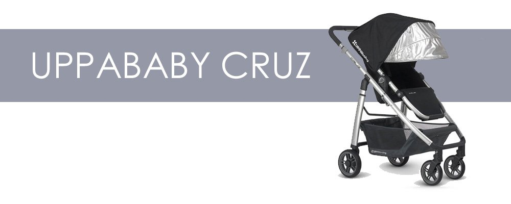 UPPAbaby Cruz är en liten barnvagn med bakåtvänd sittdel