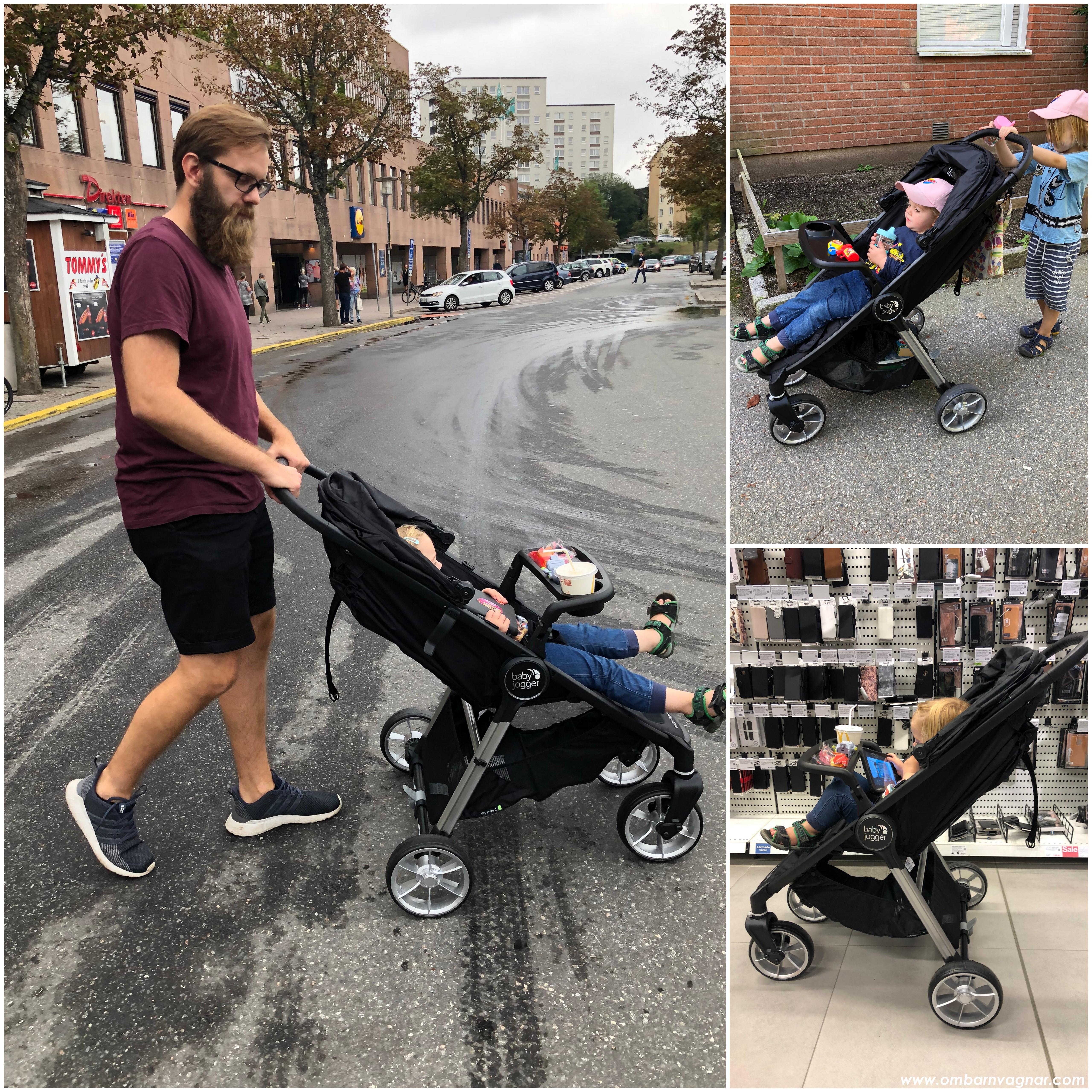 Körkänslan i och användning av Baby Jogger City Mini 2 4W