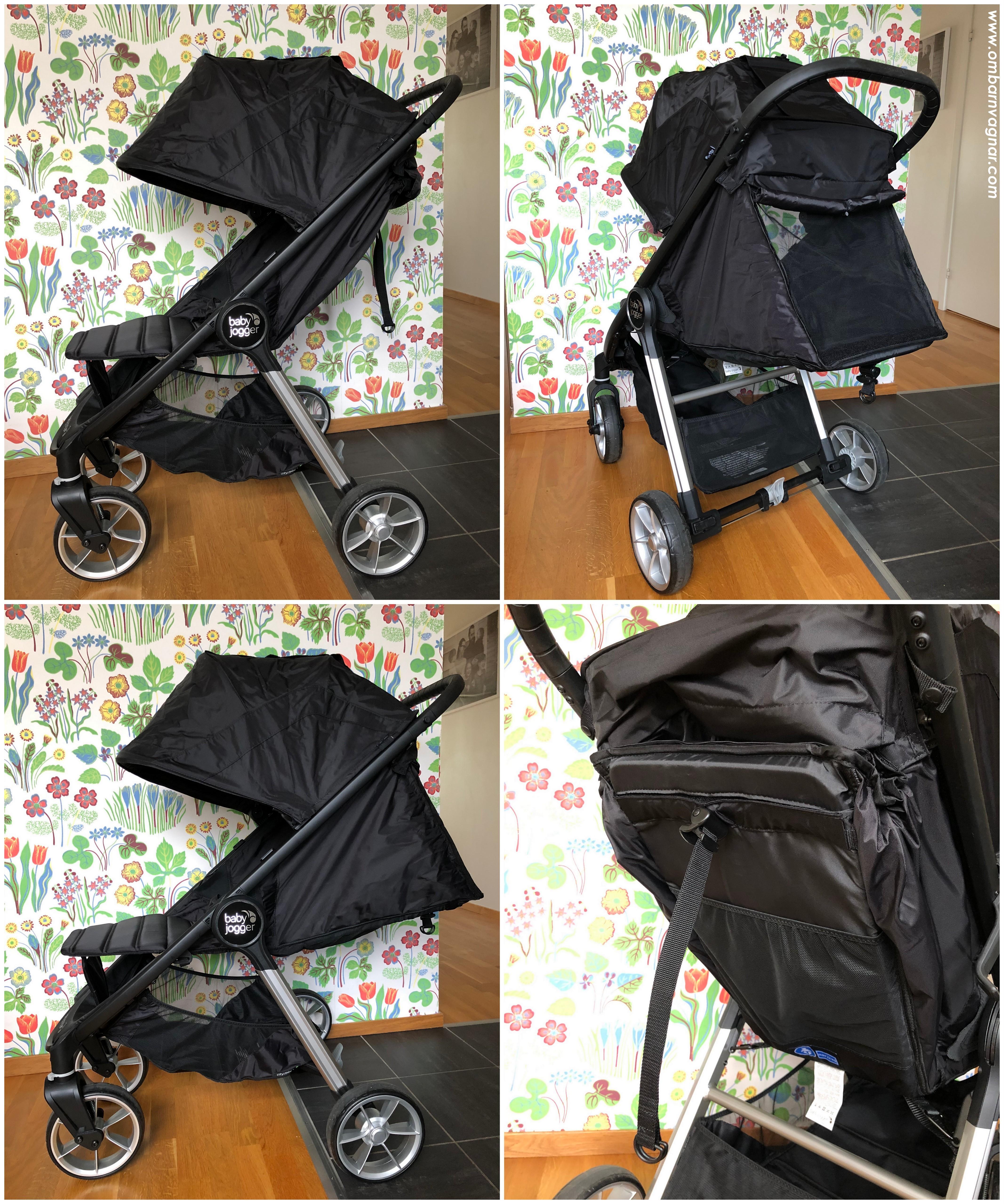 Sittläge och liggläge i Baby Jogger City Mini 2 4W