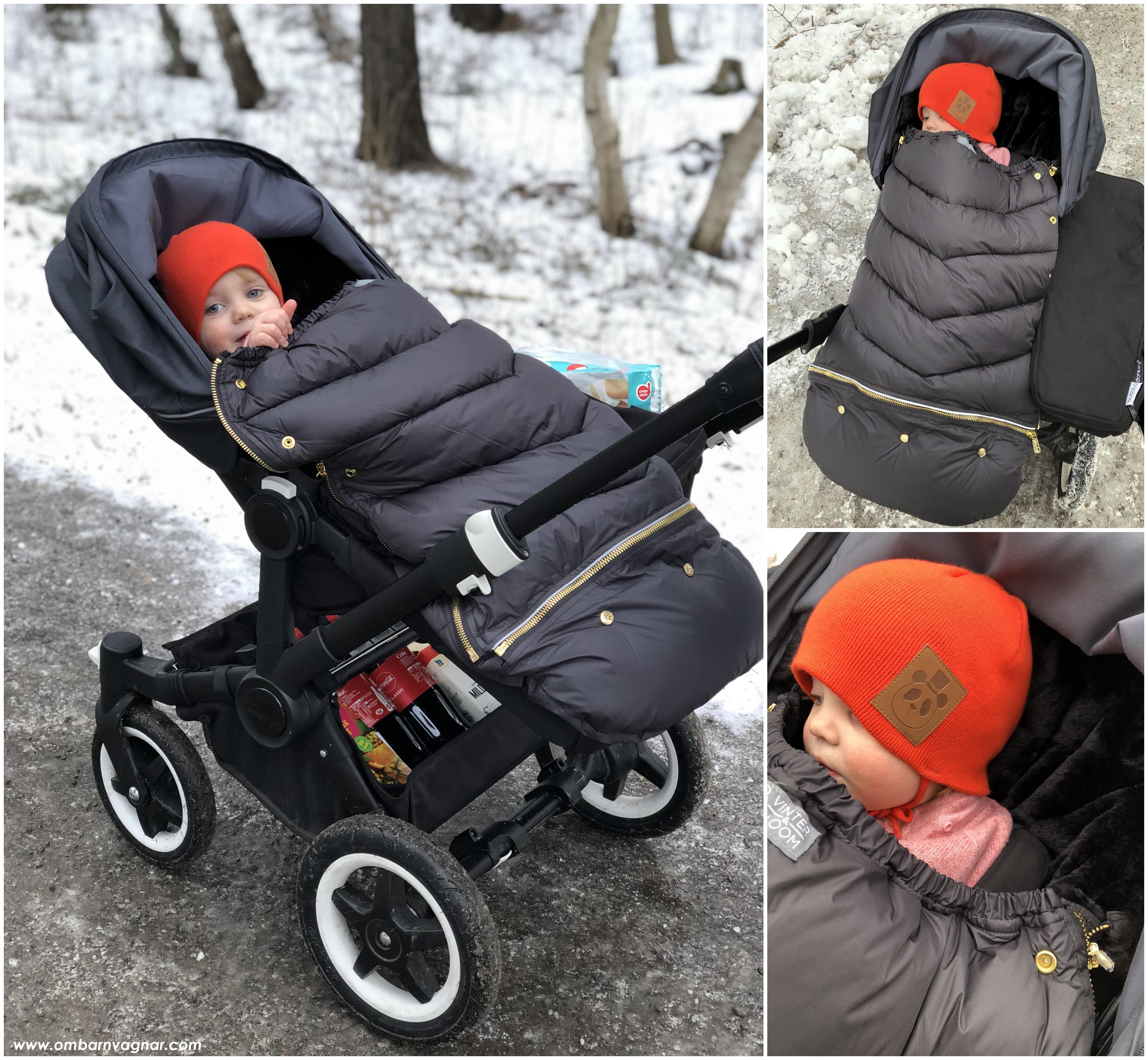 Vinter & Bloom Chic Åkpåse i barnvagnen och mitt omdöme