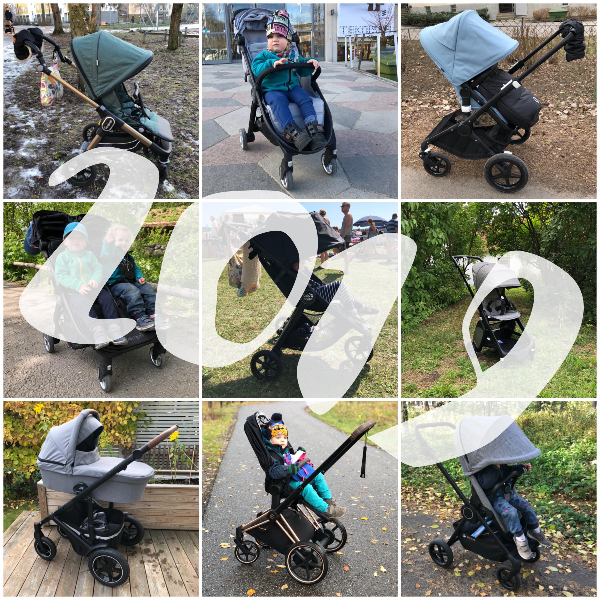 Allt om barnvagnar årskrönika 2019