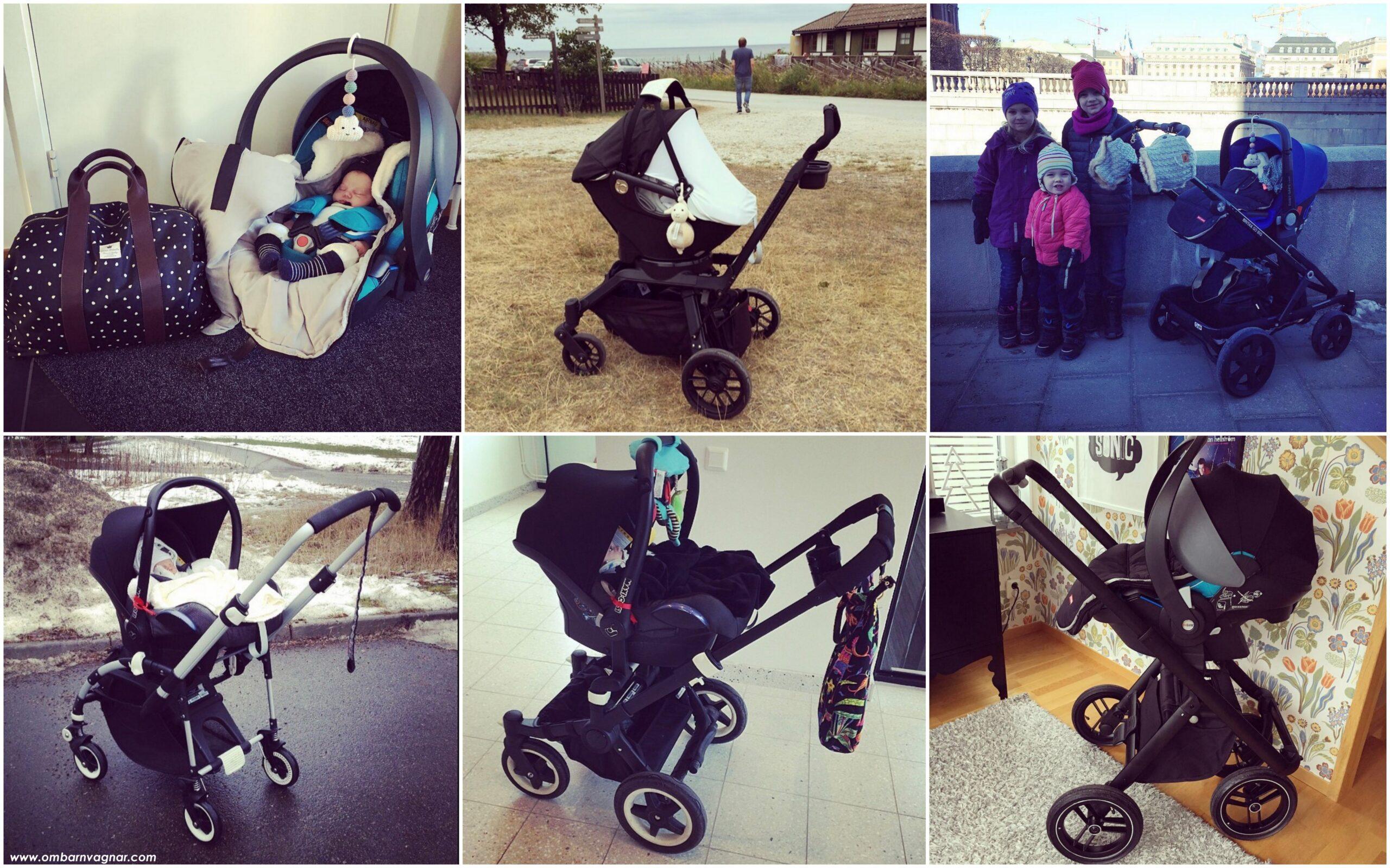 Guide: Allt du behöver veta för att välja rätt babyskydd och rätt adaptrar till din barnvagn.