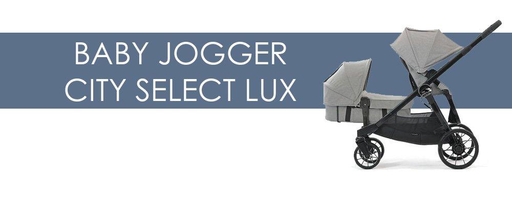 Baby Jogger City Select Lux syskonvagn för- och nackdelar