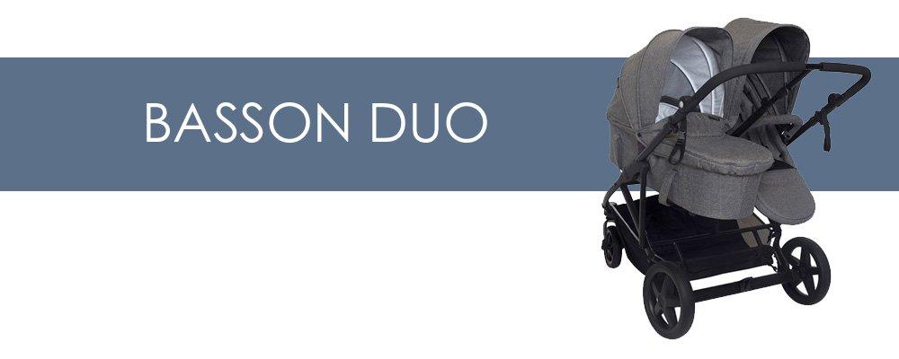 Basson Duo syskonvagn för- och nackdelar