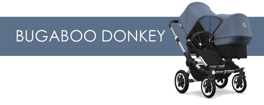 Bugaboo Donkey syskonvagn för- och nackdelar
