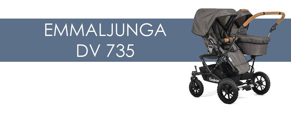 Emmaljunga DV 735 syskonvagn för- och nackdelar