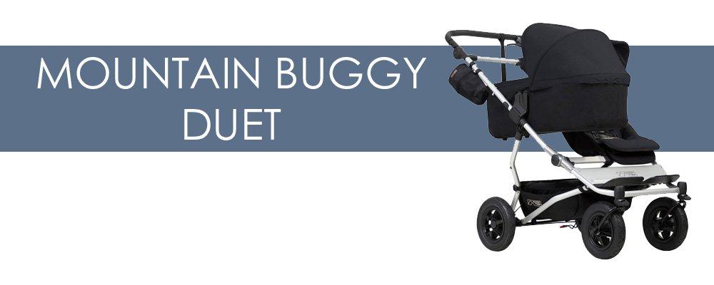 Mountain Buggy Duet syskonvagn för- och nackdelar