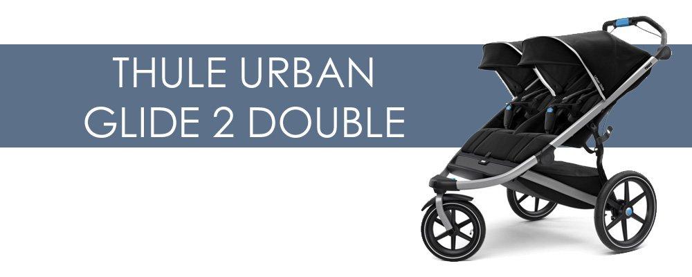 Thule Urban Glide 2 Double syskonvagn för- och nackdelar