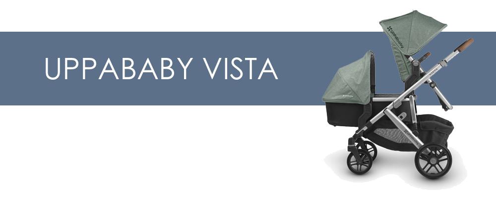 UPPAbaby Vista syskonvagn för- och nackdelar