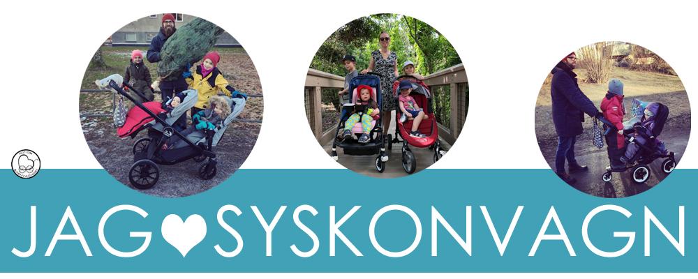 Allt om barnvagnar - jag älskar syskonvagnar