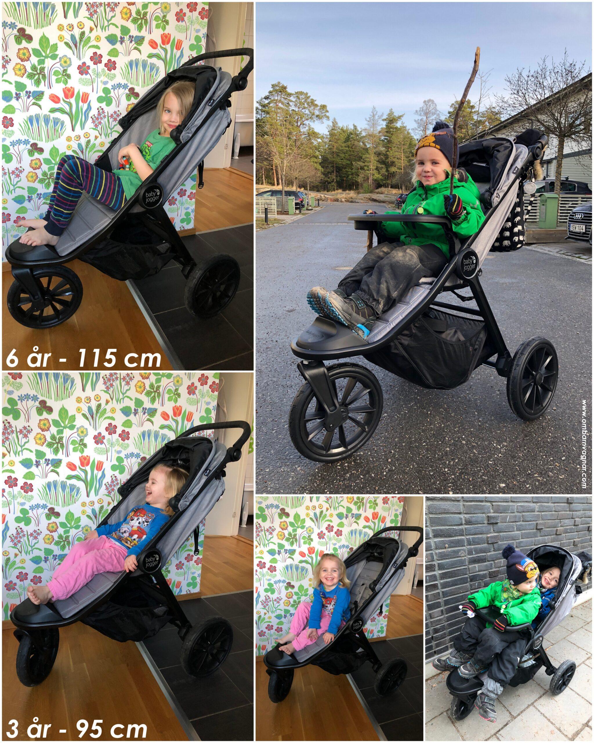 Så stora barn ryms i Baby Jogger City Elite 2