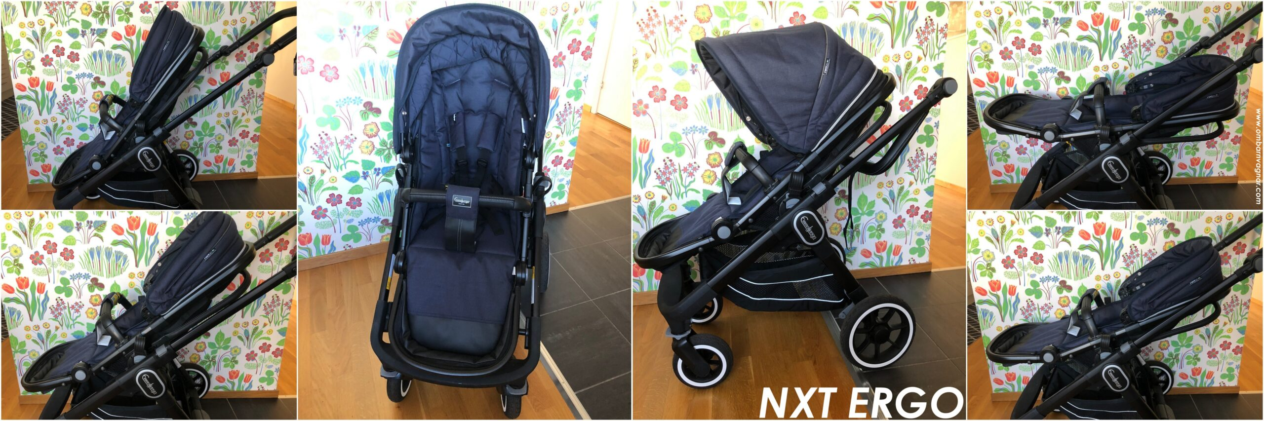 Recension av Emmaljunga NXT60 med ergonomisk sittdel