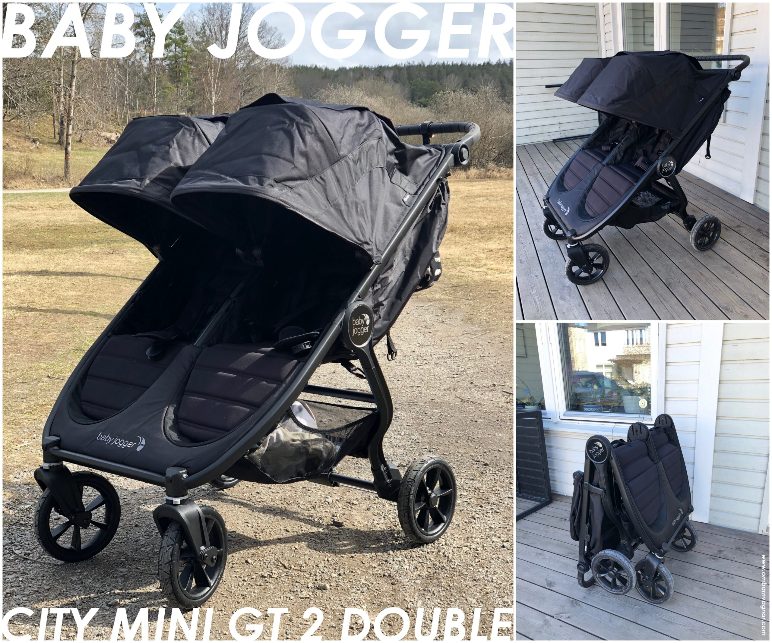 Recension av Baby Jogger City Mini GT 2 Double