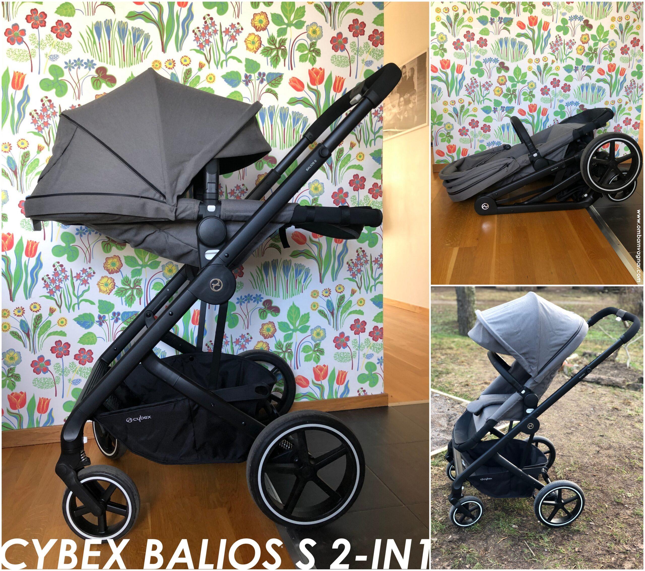 Recension av Cybex Balios S 2-in-1