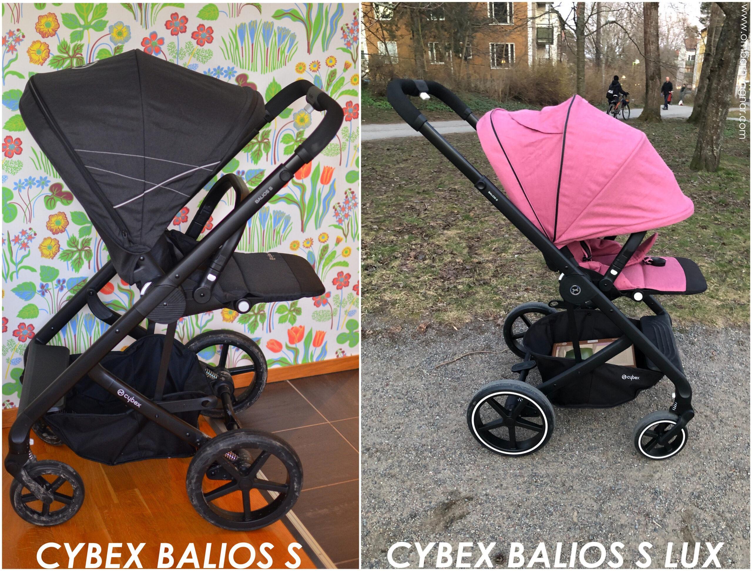 Skillnaden mellan Cybex Balios S och Cybex Balios S Lux