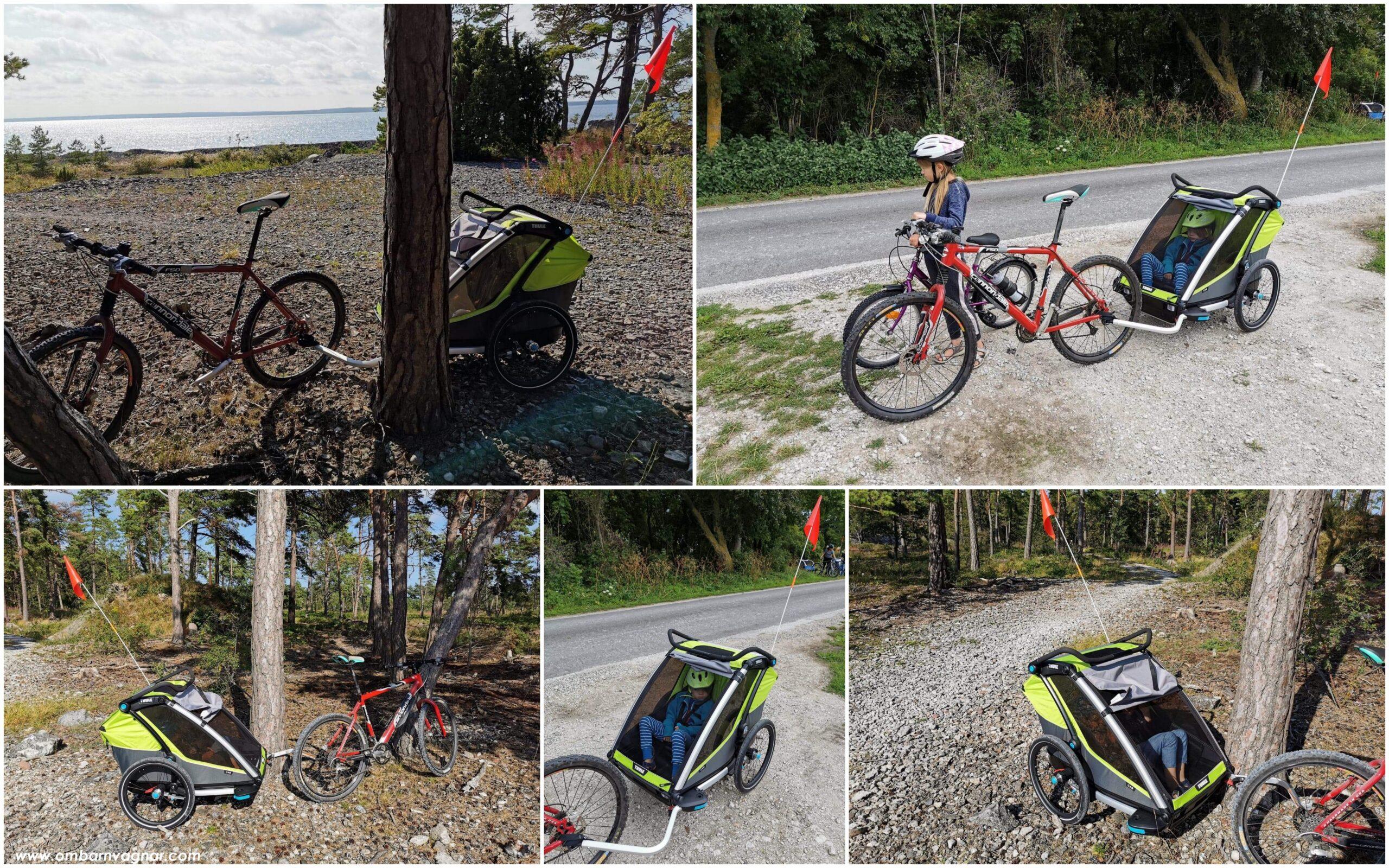 Så bra är Thule Chariot Cab 2 cykelvagn att cykla med