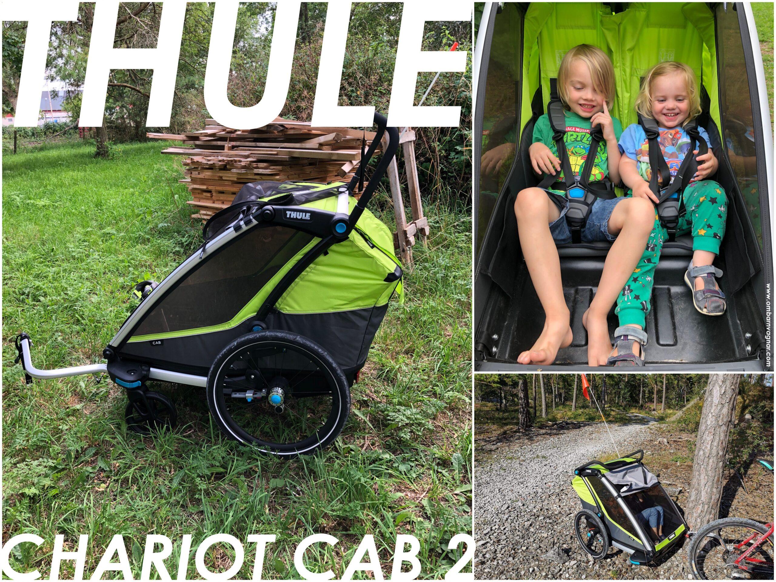 Recension av Thule Chariot Cab 2 cykelvagn
