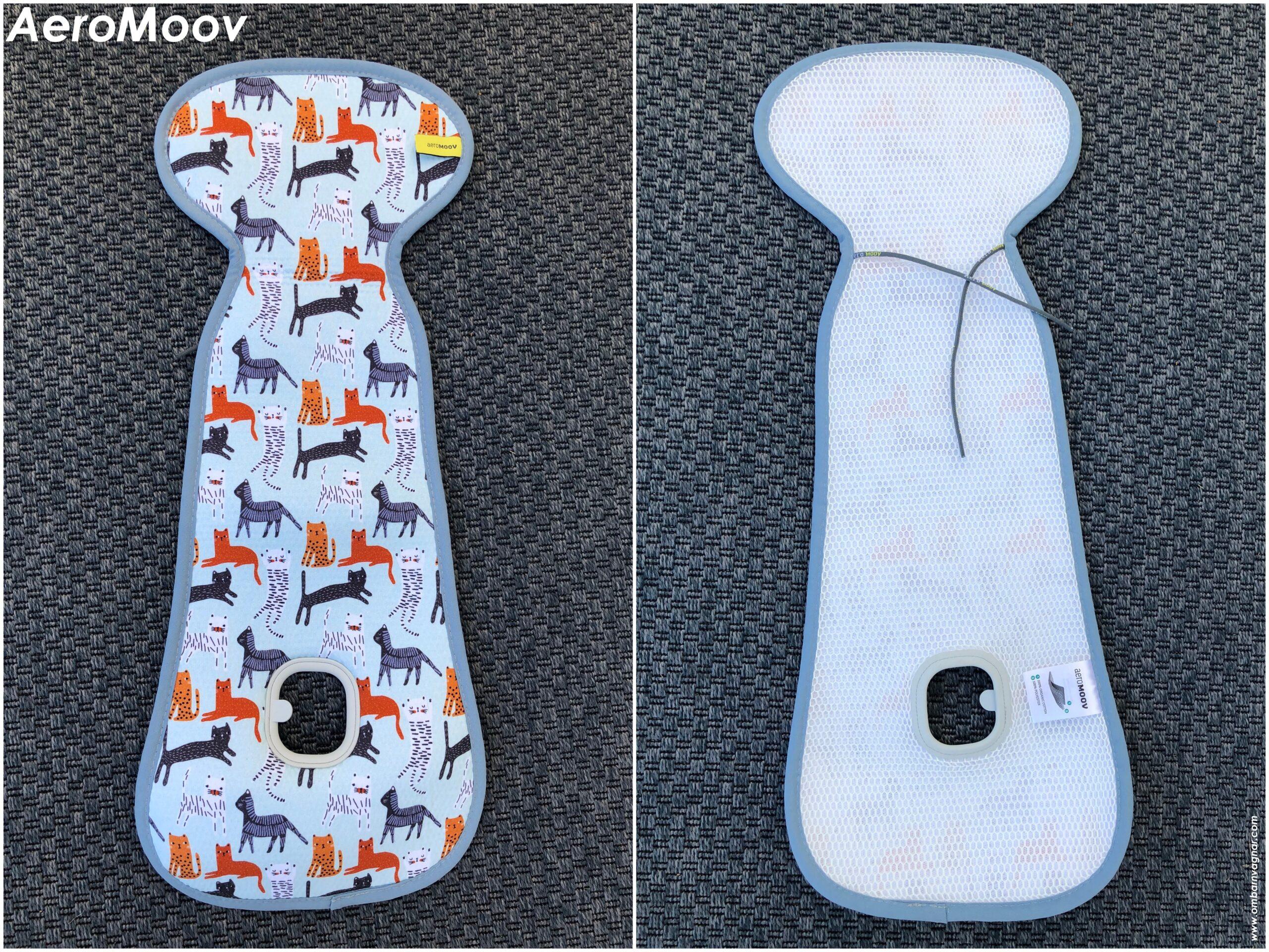Recension av AeroMoov Svalkande sittdyna för barnvagn