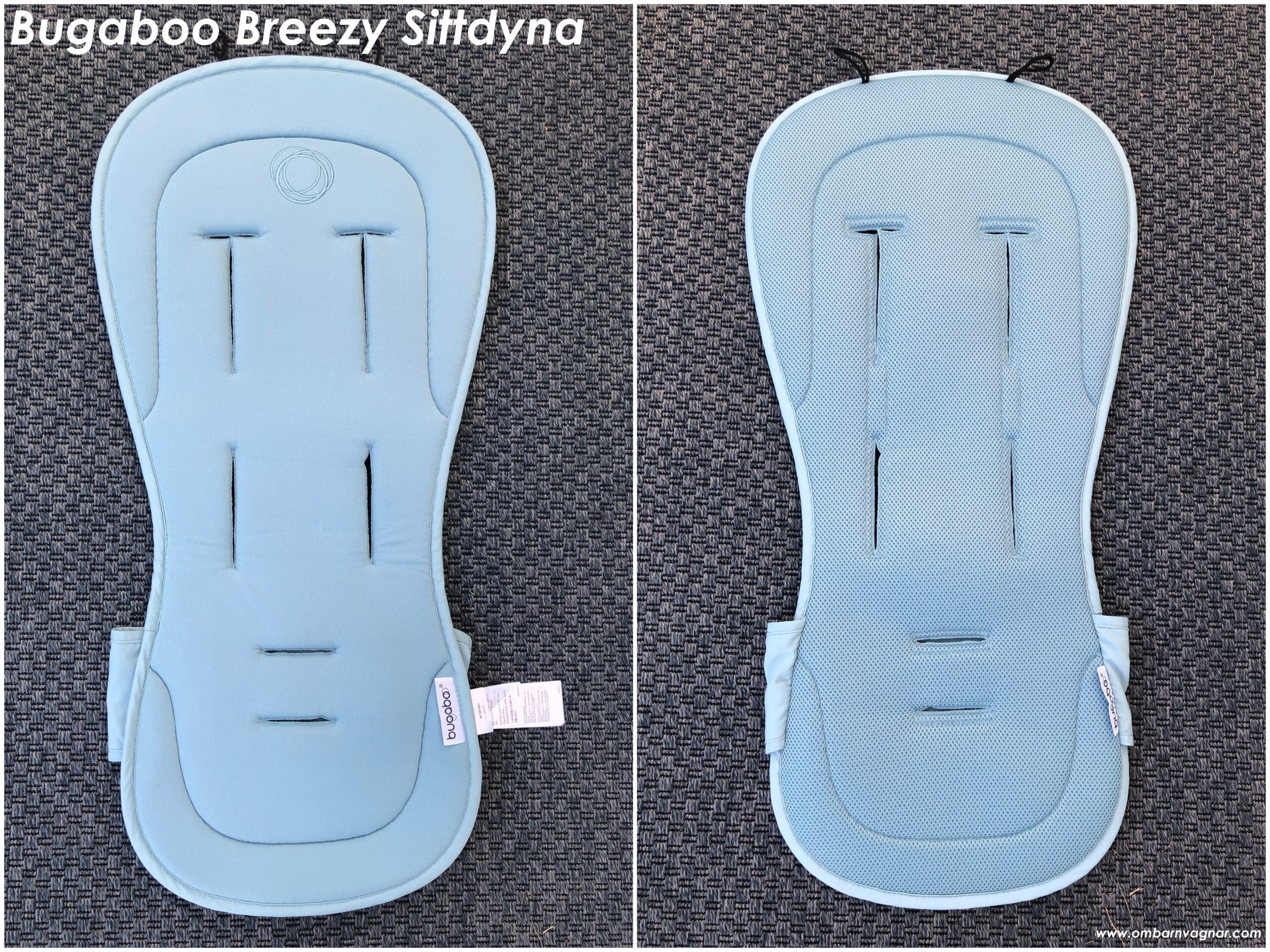 Recension av Bugaboo Breezy Svalkande sittdyna