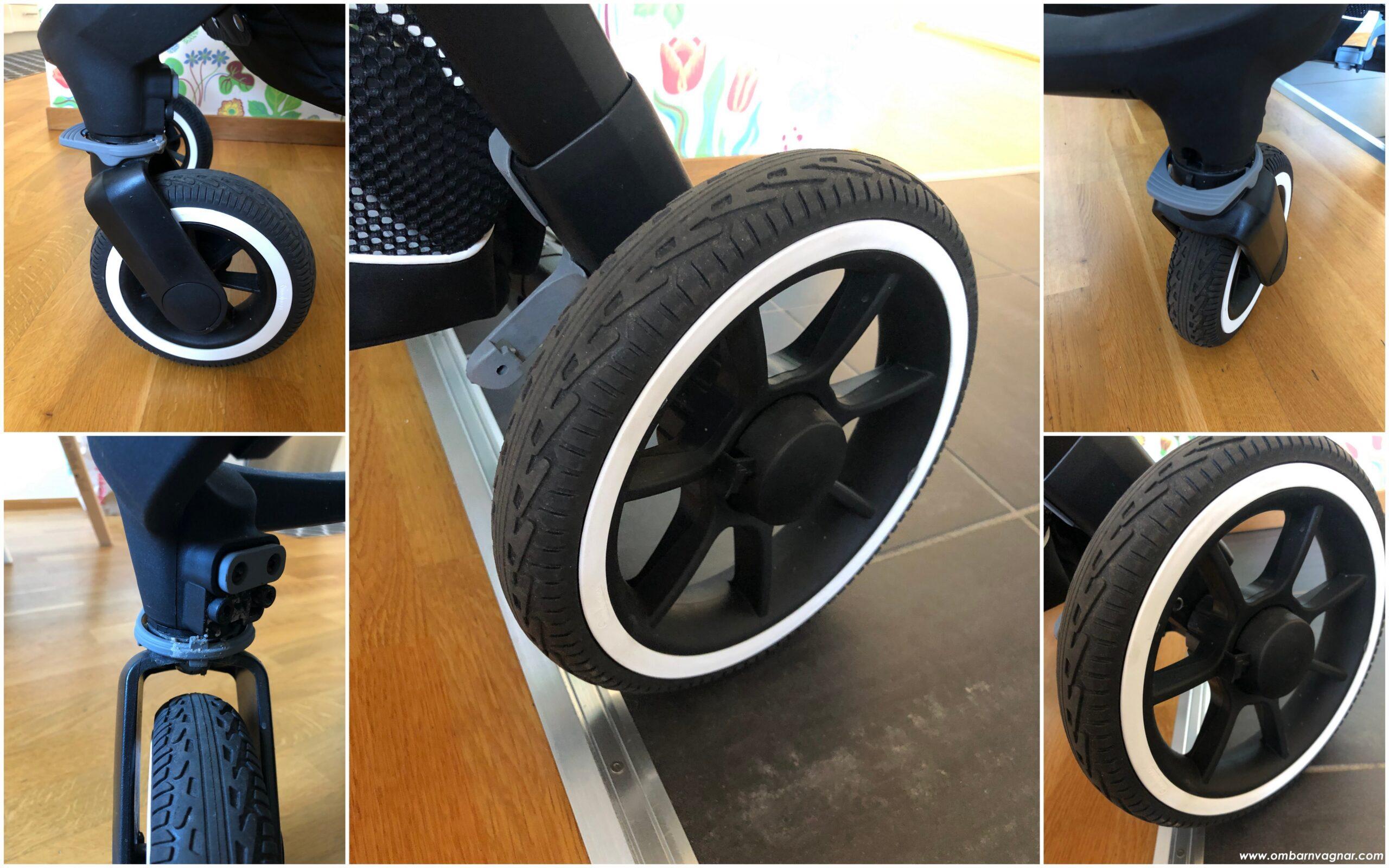 Emmaljunga NXT60 Lounge med punkteringsfria hjul