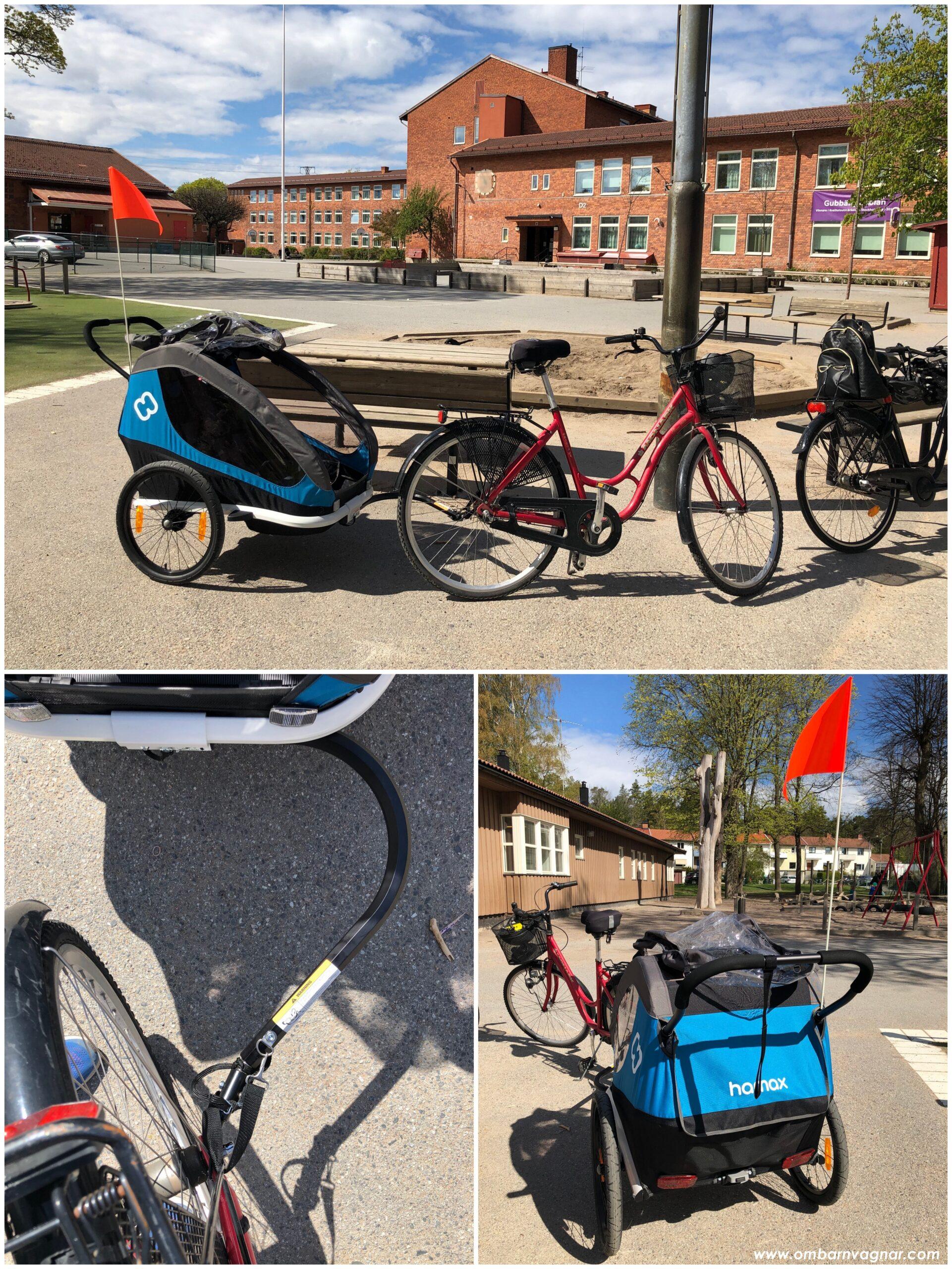 Recension av Hamax Traveller som cykelvagn