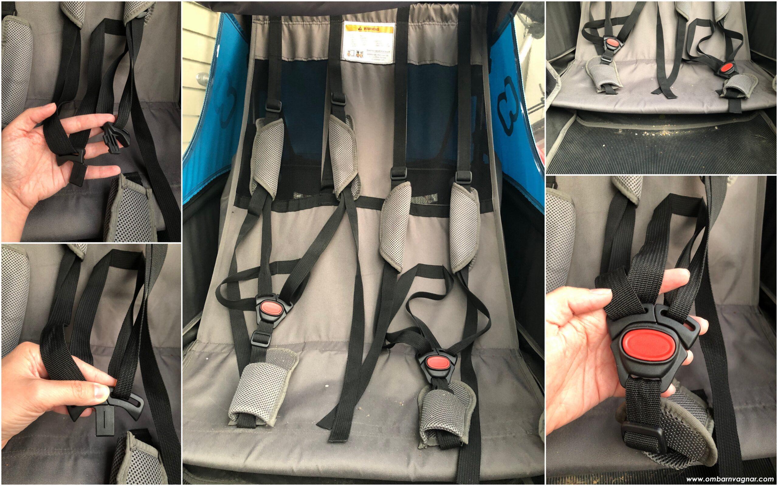 Hamax Traveller har sittutrymme för två barn