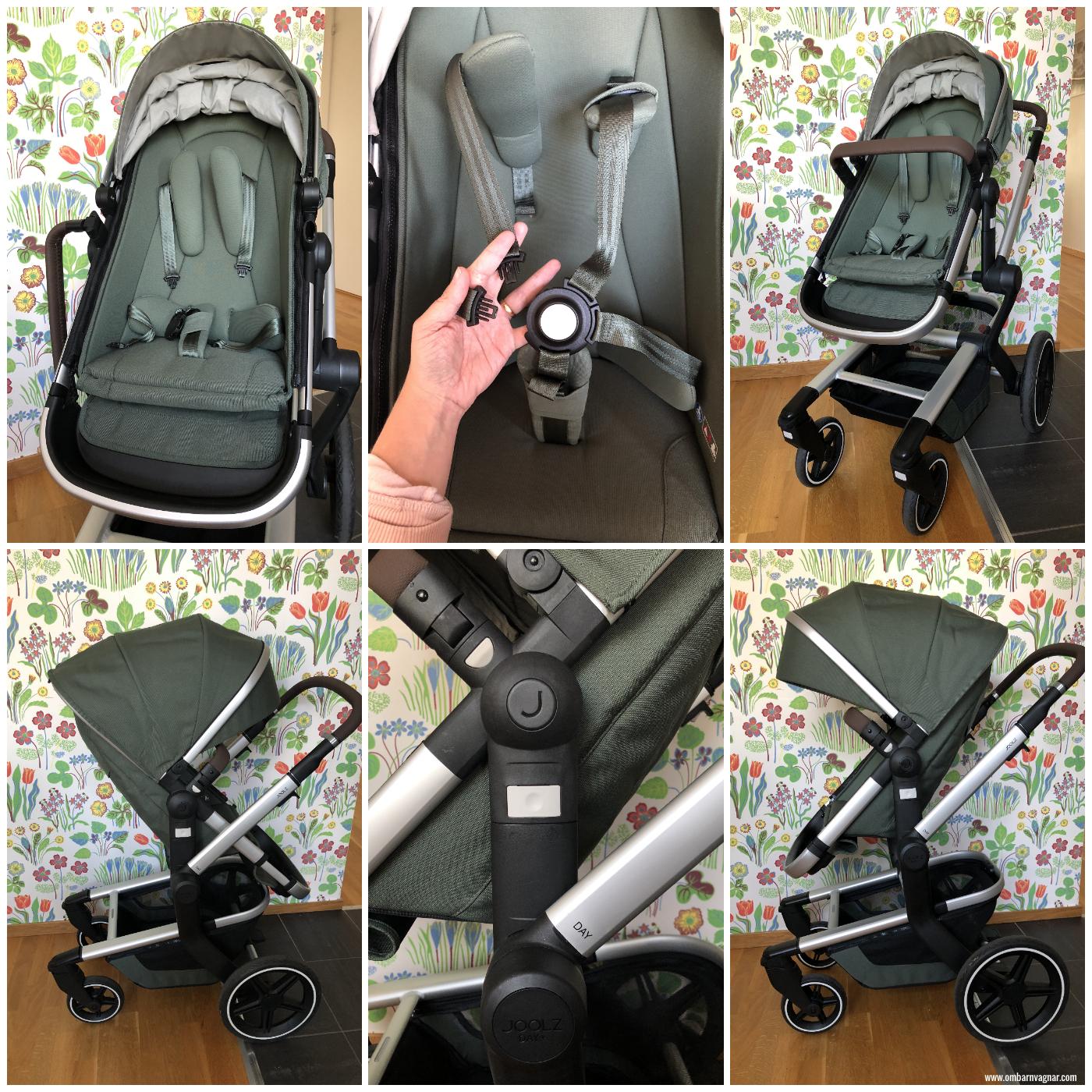 Joolz Day + med ergonomisk, vändbar sittdel