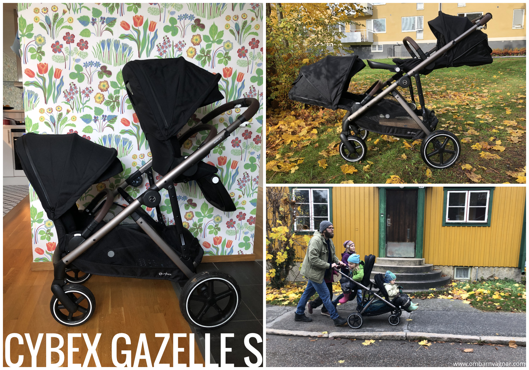 Recension av Cybex Gazelle S
