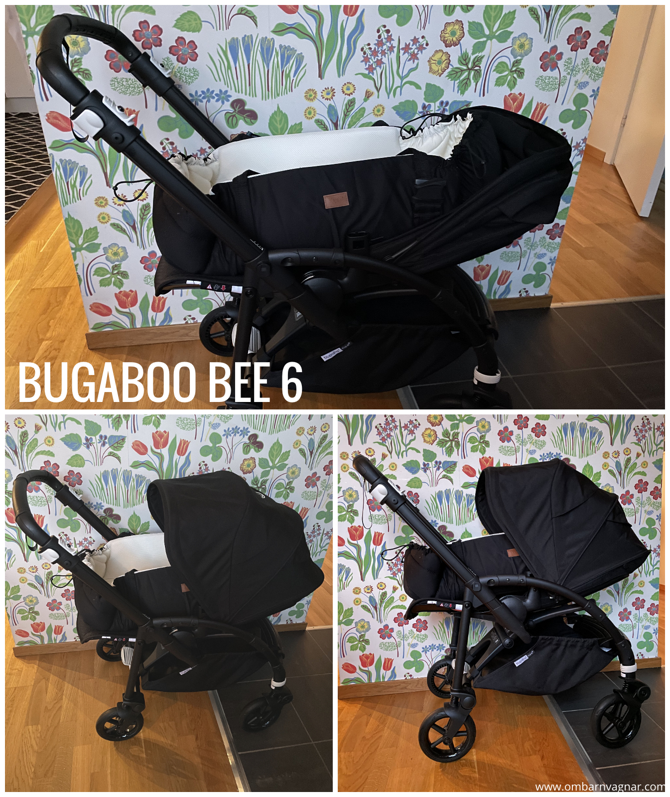 Najell SleepCarrier Mjuklift i Bugaboo Bee