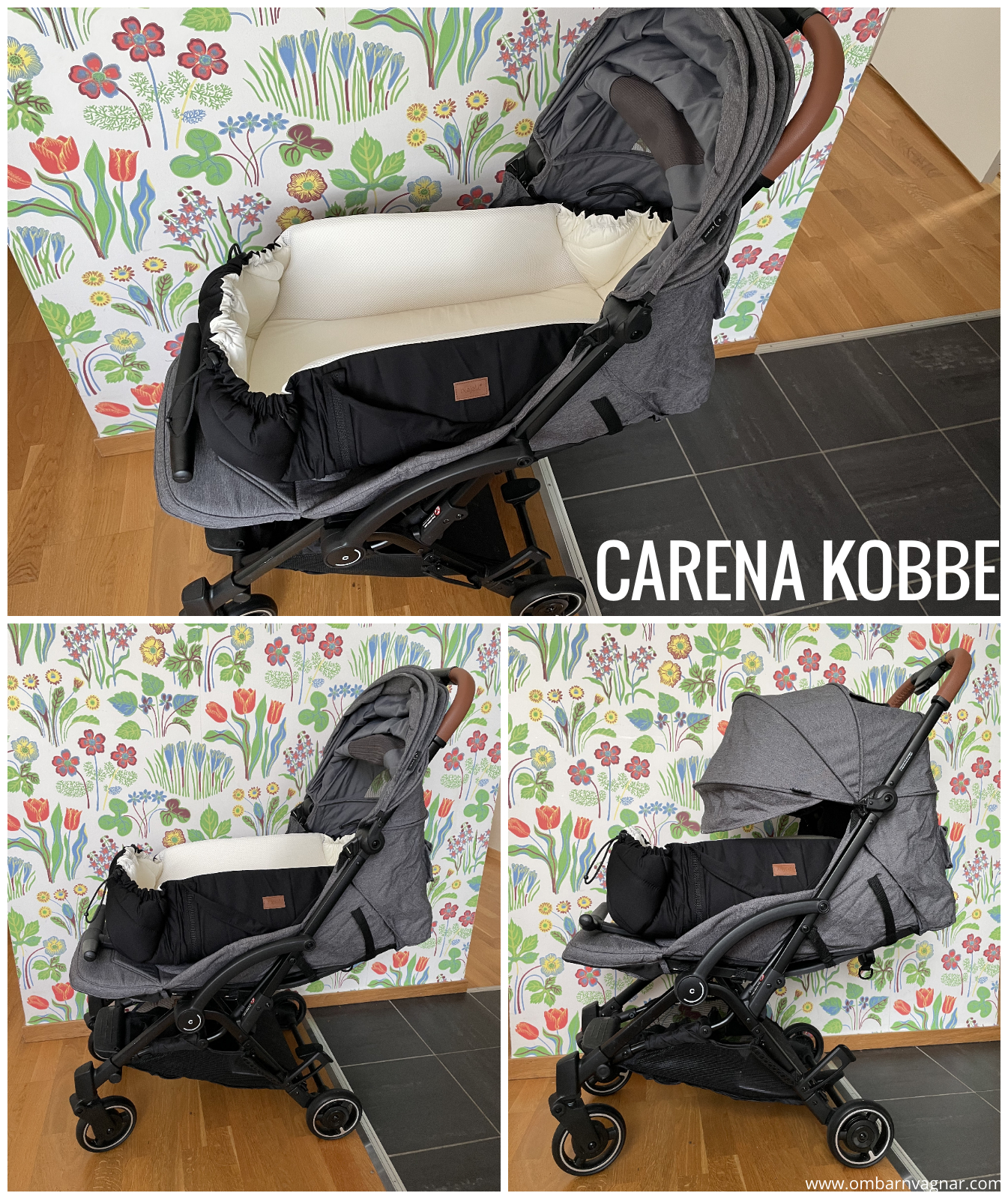 Najell SleepCarrier Mjuklift i Carena Kobbe