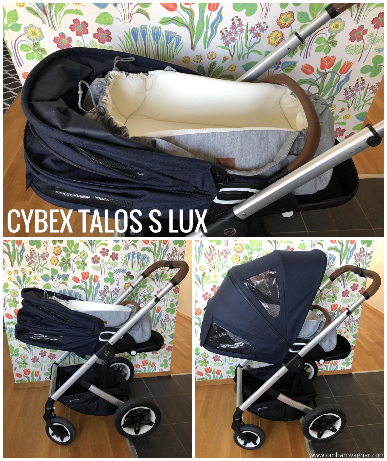 Najell SleepCarrier Mjuklift i Cybex Talos S Lux