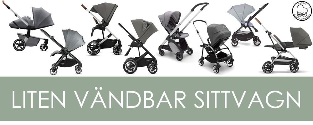 Topplista över Allt om barnvagnars bästa vändbara små sittvagnar