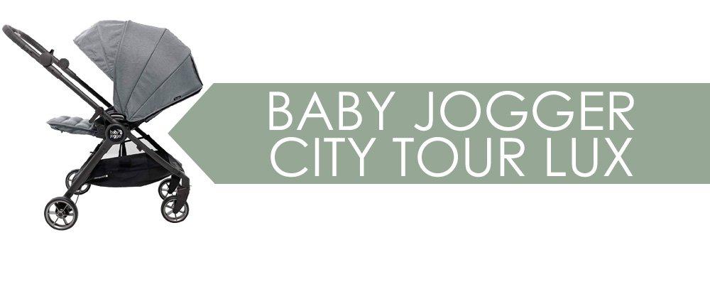 Baby Jogger City Tour Lux - blir mycket kompakt och lätt att bära ihopfälld