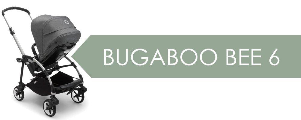 Bugaboo Bee 6 - påkostad med med alla funktioner man behöver